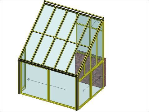 wintergarten montage in 1 tag. Black Bedroom Furniture Sets. Home Design Ideas